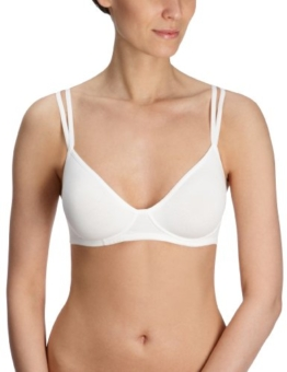 Skiny Damen BH (Ohne Bügel), SKINY Essentials Women/ 1846 Da. Soft BH, Gr. 80B, Weiß (0500 WHITE) -