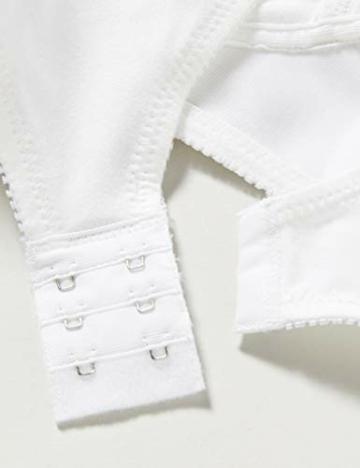 Triumph Damen Bügelloser BH Cotton Shaper N, Weiß (White 03), Gr. 100C - 4