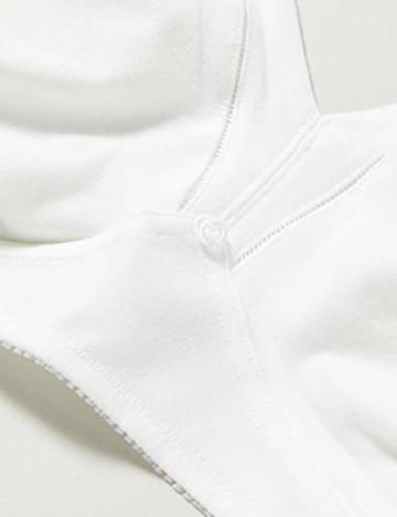 Triumph Damen Bügelloser BH Cotton Shaper N, Weiß (White 03), Gr. 100C - 5